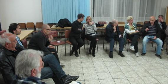 Javna tribina u MZ Jugovićevo, 17.04.2014.